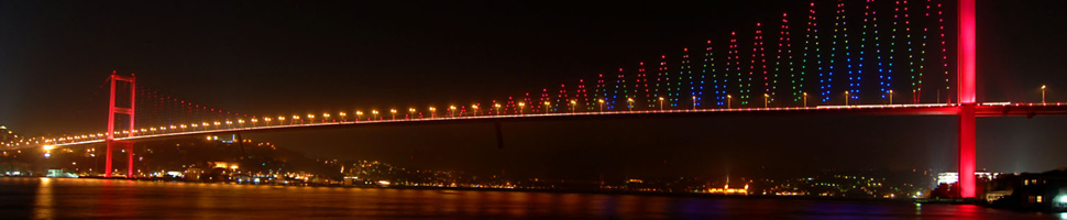 Istanbul Intercontinental Bosphorus Bridge……
